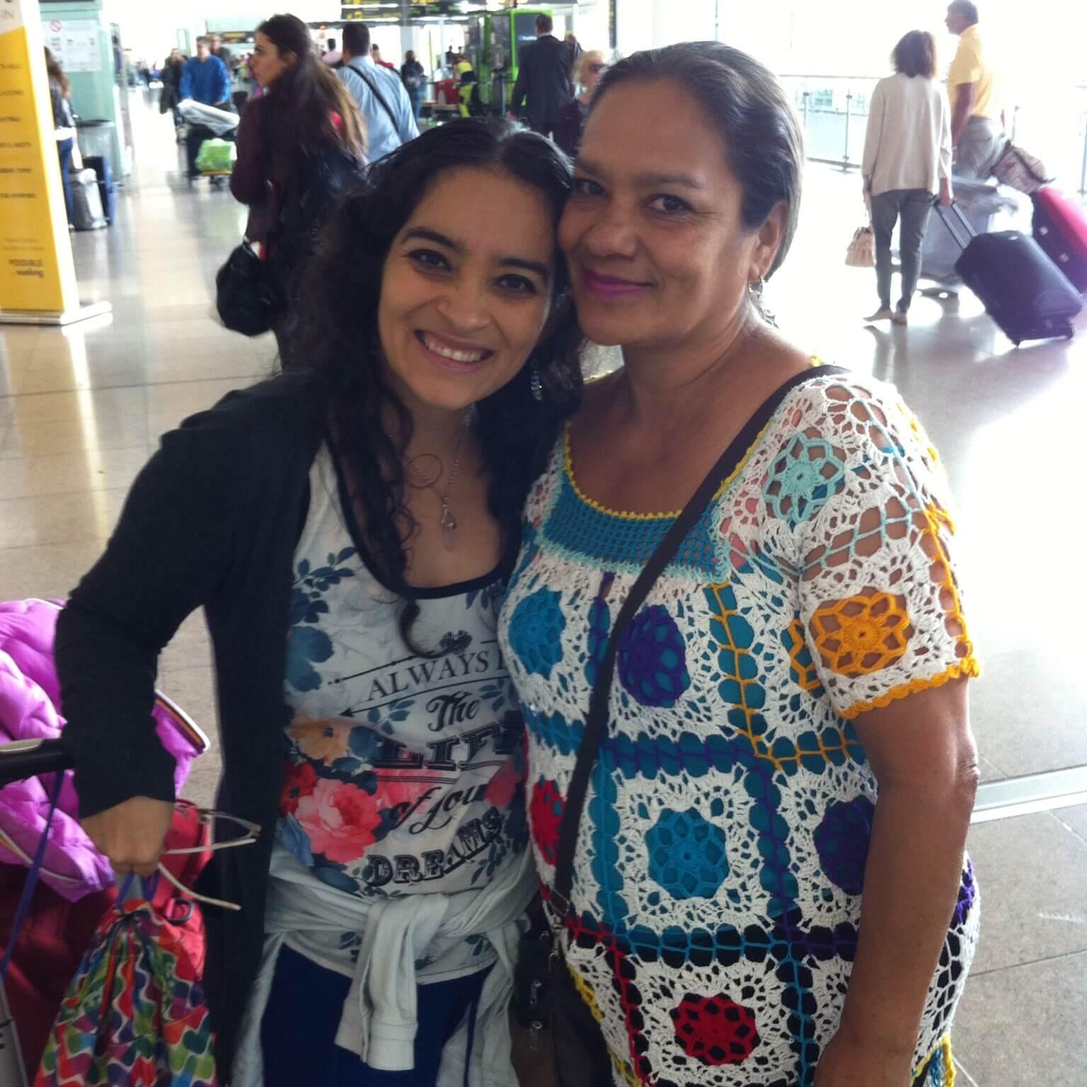 aeropuerto salida para Colombia