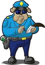 Policia haciendo Parte