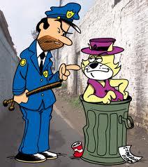 Policia y gato