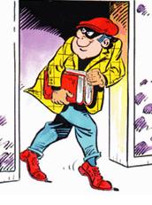 Ladrón de libros me quería despistar