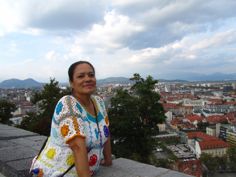 Vistas de Liubliana desde el castillo