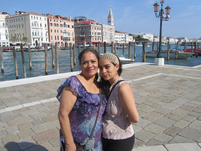 Contentas en Venecia