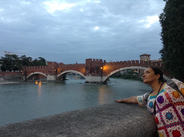 Primera foto en Verona