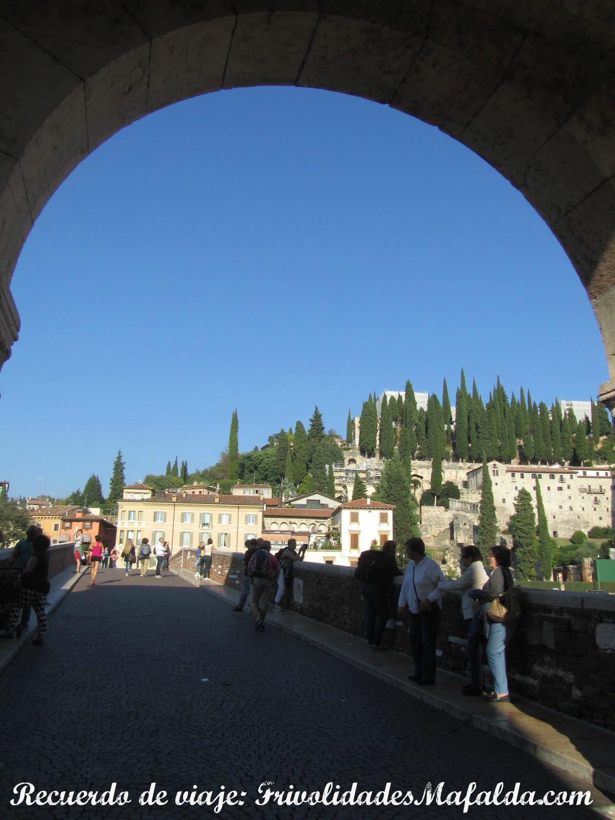 Buscando el lugar más alto de Verona