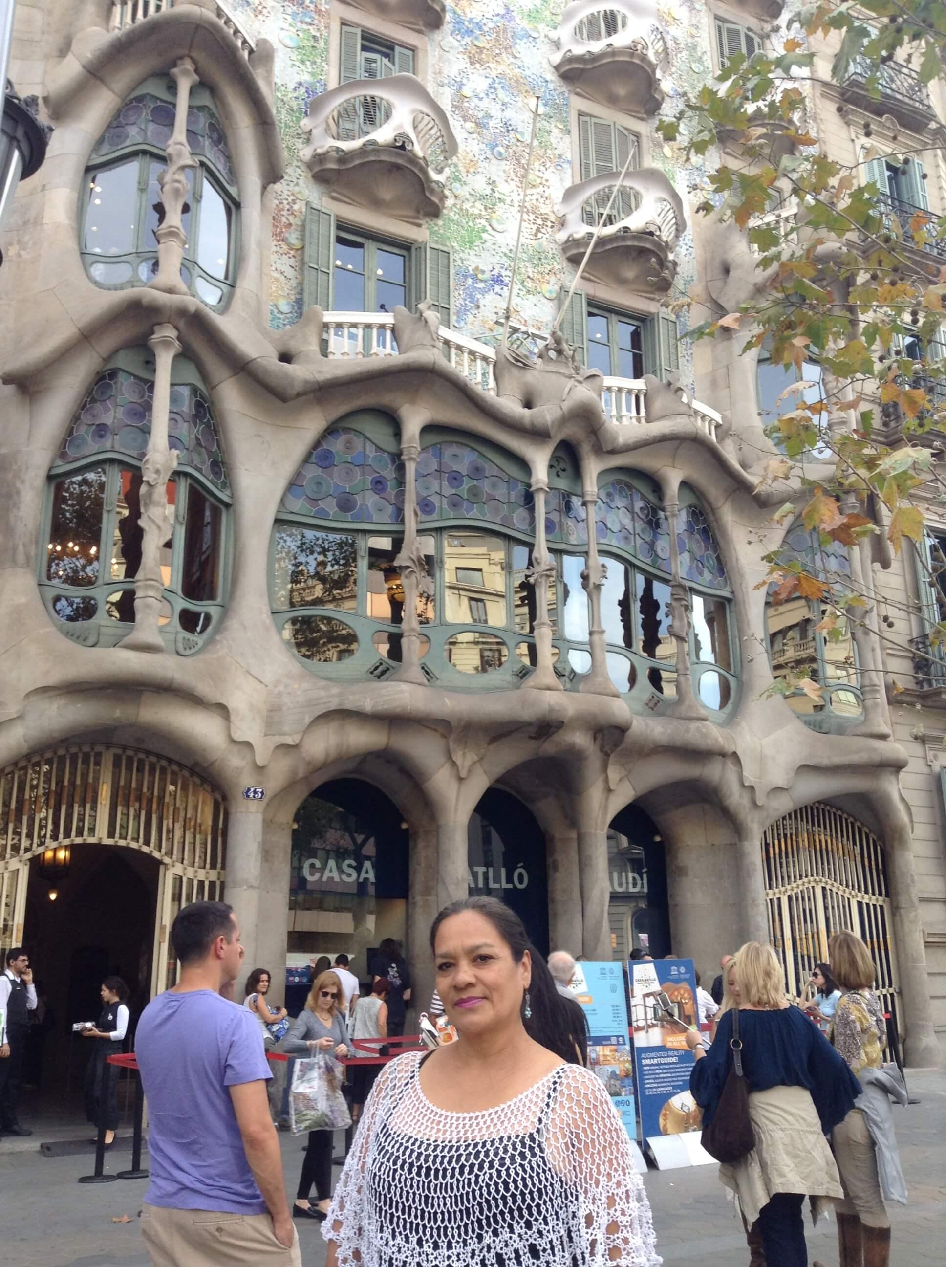 Caminando por Barcelona