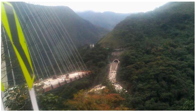 Colapso puente Colombia